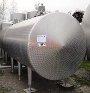 Behälter 6.000 Liter aus V2A, gebraucht, isoliert