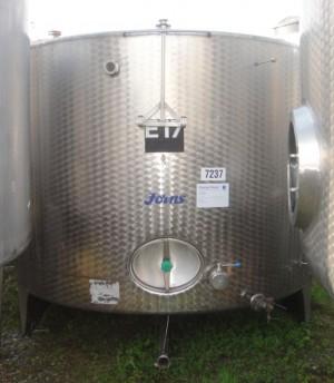 Behälter 8.500 Liter aus V2A,  einwandig, gebraucht