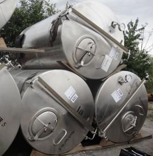 Behälter 5.000 Liter aus V2A, einwandig, gebraucht