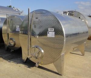 Behälter 7.000 Liter aus V2A, gebraucht, einwandig
