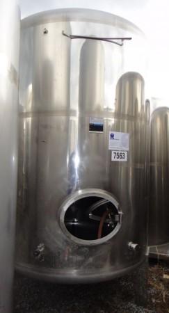 Behälter 4.500 Liter aus V2A, gebraucht, einwandig