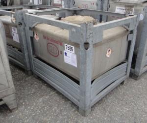 Container 500 Liter aus V2A, gebraucht, einwandig