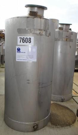 Behälter 326 Liter aus V2A, gebraucht, einwandig
