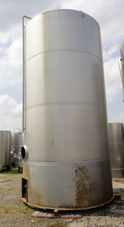 Behälter 30.000 Liter aus V2A, gebraucht, einwandig
