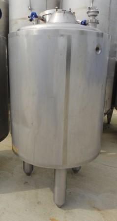 Behälter 500 Liter aus V2A, gebraucht, temperierbar, isoliert