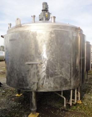 Behälter 5.980 Liter aus V2A, gebraucht, temperierbar, isoliert