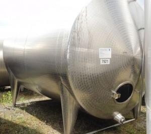 Behälter 12.000 Liter aus V2a, einwandig
