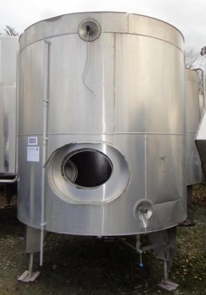 Behälter 5.000 Liter aus V2A, gebraucht, isoliert