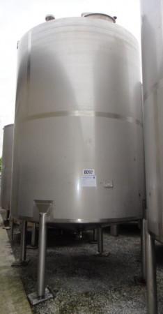 Behälter 10.000 Liter aus V4A, gebraucht, einwandig