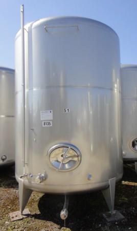 Behälter 11.400 Liter aus V2A, gebraucht, einwandig