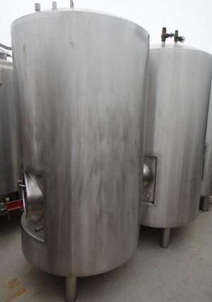 Druckbehälter 1.200 Liter aus V4A, gebraucht, isoliert