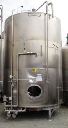 Behälter 16.373 Liter aus V2A, gebraucht, einwandig