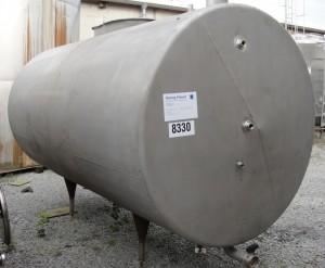 Behälter 6.000 Liter aus V4A, gebraucht, einwandig