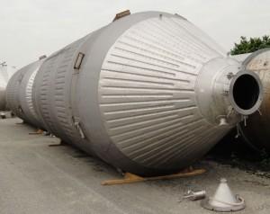 Druckbehälter 47.000 Liter aus V2A, gebraucht, temperierbar