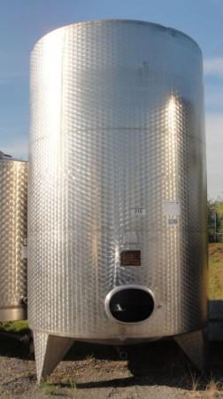 Behälter 11.000 Liter aus V2A, gebraucht, einwandig