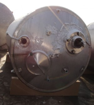 Behälter 8.000 Liter aus V2a, isoliert, gebraucht