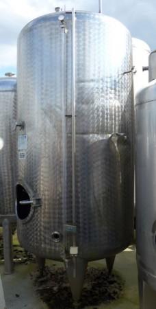 Behälter 2.500 Liter aus V2A, einwandig