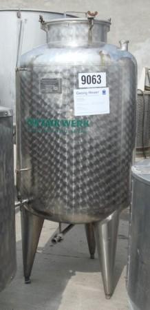 Behälter 552 Liter aus V2a, einwandig, gebraucht
