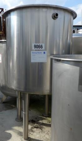 Behälter 1.000 Liter aus V2A, einwandig