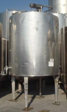 Behälter 4.500 Liter aus V2A, gebraucht, isoliert