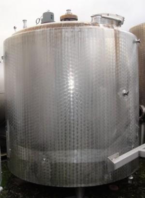 Behälter 5.000 Liter aus V2a, isoliert, gebraucht
