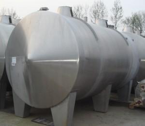 Behälter 15.000 Liter aus V2A, einwandig