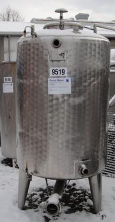 Behälter 1.100 Liter aus V2A, einwandig, gebraucht