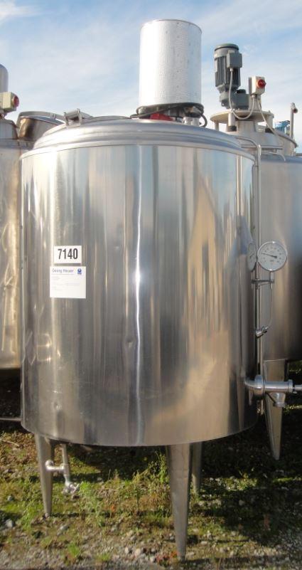 Behälter 1.200 Liter aus V2A, gebraucht, isoliert