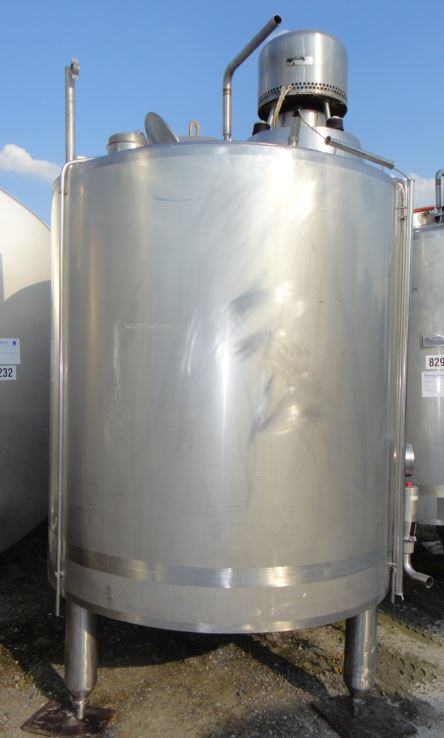 Behälter 2.000 Liter aus V2A, gebraucht, isoliert